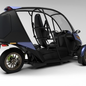 Arcimoto Generation 8 - On Angel - With Carrier