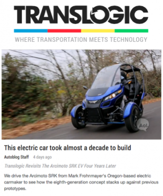 Translogic Features The Arcimoto SRK