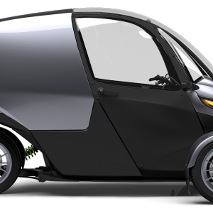 Arcimoto Generation 8 Deliverator - Side View