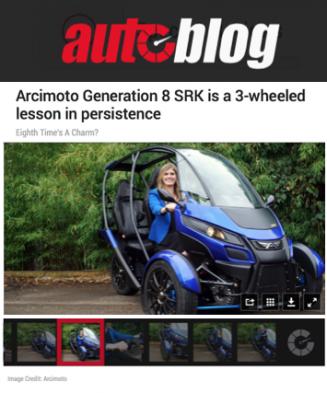 Autoblog Features Arcimoto