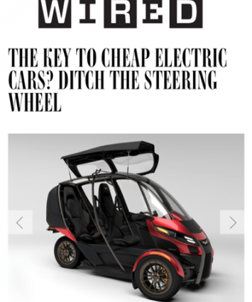 Arcimoto In WIRED