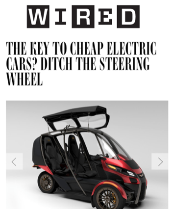 WIRED Covers Arcimoto