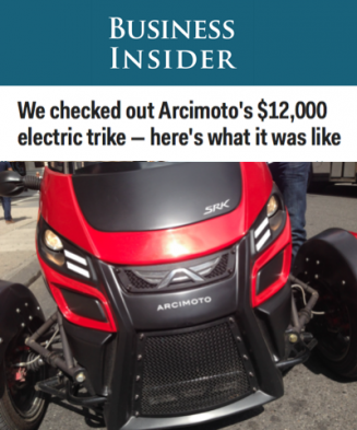 Business Insider On The Arcimoto SRK