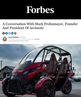 Forbes On Arcimoto