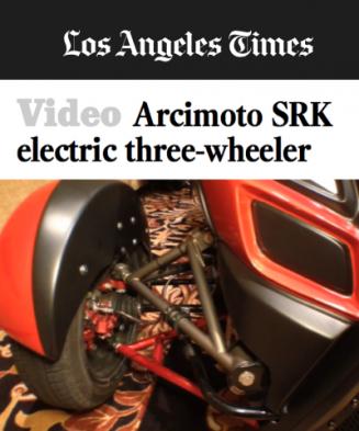 Los Angeles Times Covers Arcimoto